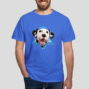 Hanukkah Star of David - Dalmatian Dark T-Shirt