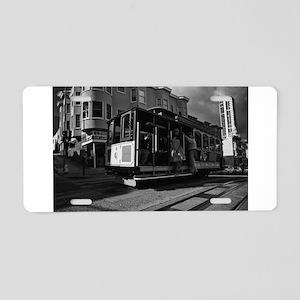 Streetcar Aluminum License Plate