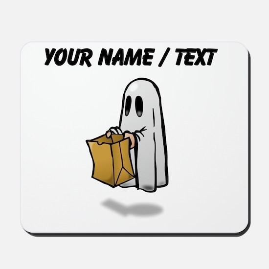 Custom Trick Or Treat Ghost Mousepad