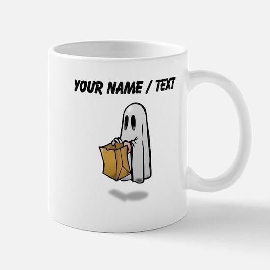 Custom Trick Or Treat Ghost Mugs