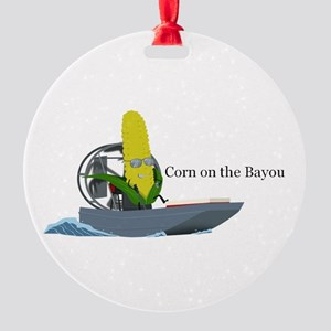 Corn On The Bayou Ornament