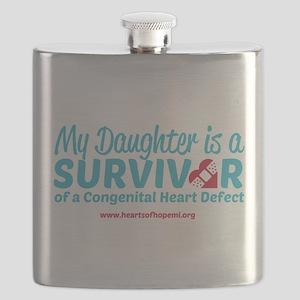 CHD Survivor - Daughter Flask