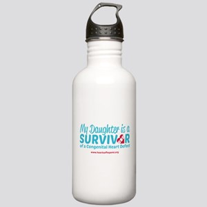 CHD Survivor - Daughter Water Bottle