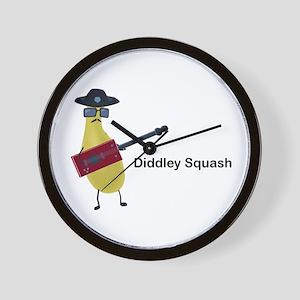 Diddley Squash Wall Clock