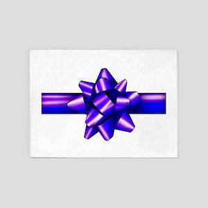 violetbow 5'x7'Area Rug