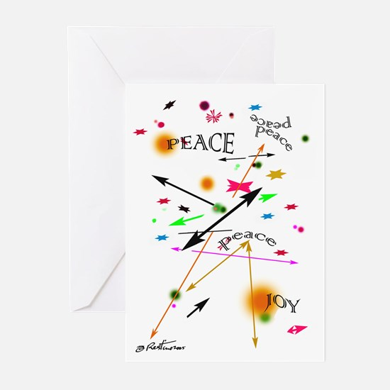 Peace & Joy Greeting Cards (Pk of 10)
