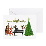 Jazz Greeting Cards (10 Pack)