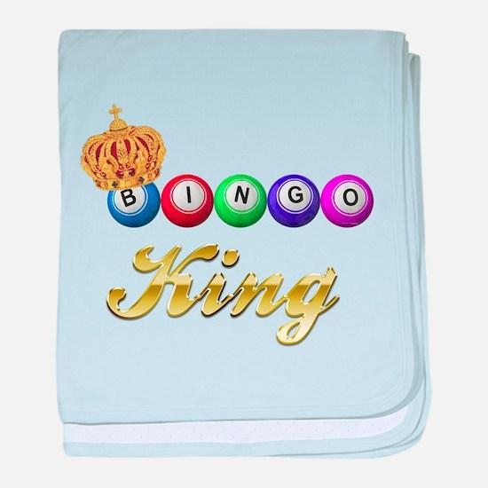 Bingo King baby blanket