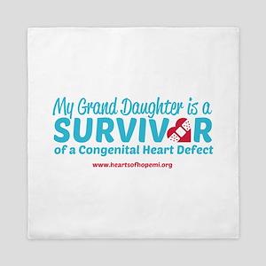 CHD Survivor - Grand Daughter Queen Duvet