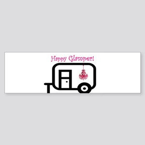 Happy Glamper! Bumper Sticker
