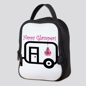 Happy Glamper! Neoprene Lunch Bag