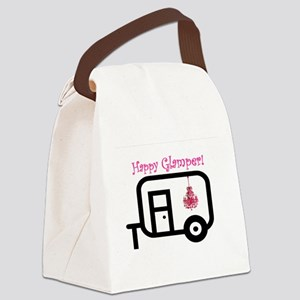 Happy Glamper! Canvas Lunch Bag
