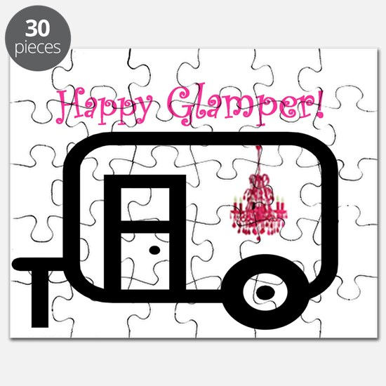 Happy Glamper! Puzzle