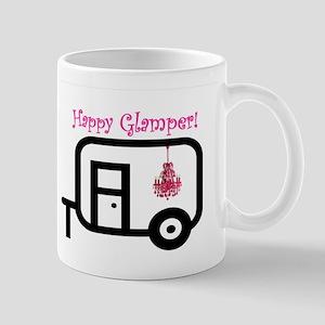 Happy Glamper! Mugs