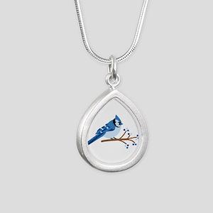 Christmas Blue Jays Necklaces