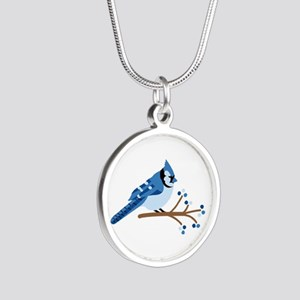 Christmas Blue Jays Necklaces