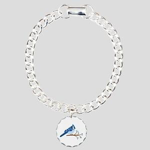 Christmas Blue Jays Bracelet