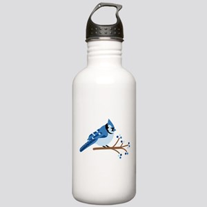 Christmas Blue Jays Water Bottle