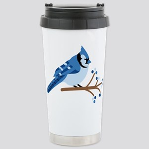 Christmas Blue Jays Travel Mug