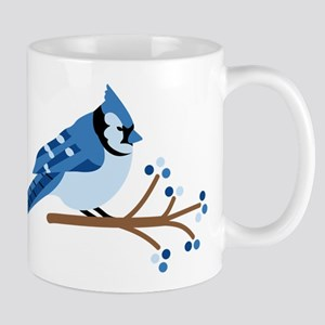 Christmas Blue Jays Mugs