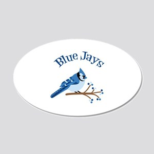 Blue Jays Wall Decal