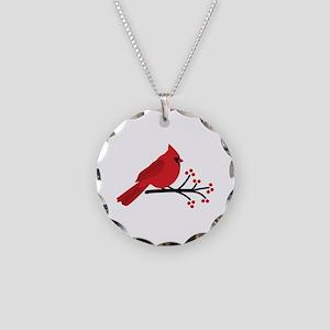 Christmas Cardinals Necklace