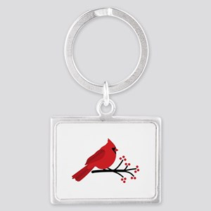Christmas Cardinals Keychains