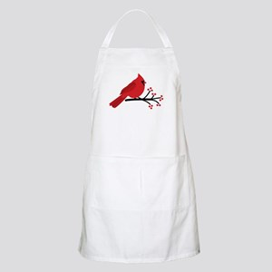 Christmas Cardinals Apron