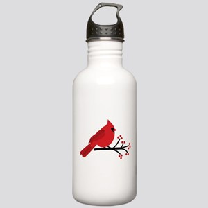 Christmas Cardinals Water Bottle
