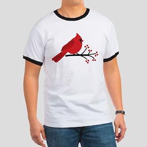 Christmas Cardinals T-Shirt