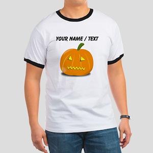 Custom Zipped Jackolantern T-Shirt