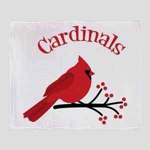 Cardinals Throw Blanket