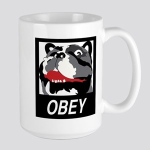 Obey Frenchie Mugs