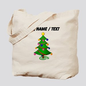Custom Christmas Tree Tote Bag