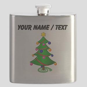 Custom Christmas Tree Flask