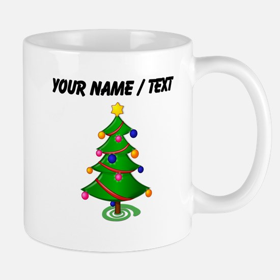 Custom Christmas Tree Mugs