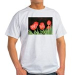 Red Tulips Light T-Shirt