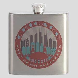 Chicago round Flask