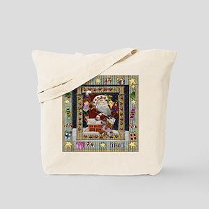 Harvest Moons Chimney Santa Tote Bag