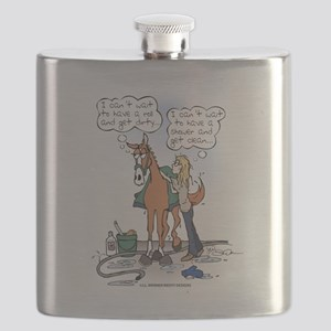 The Dirty Truth Flask