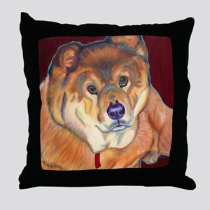 Chow Chow Throw Pillow
