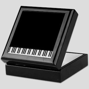 Piano Key Keepsake Box