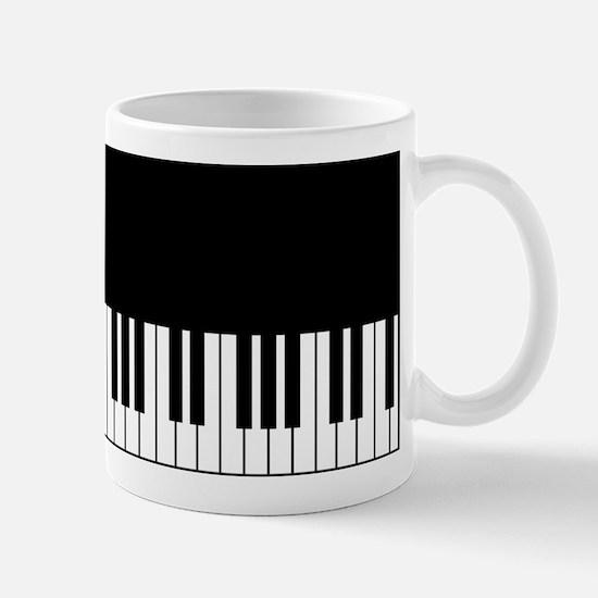 Piano Key Mugs