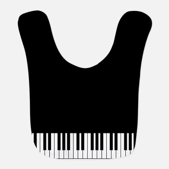 Piano Key Bib