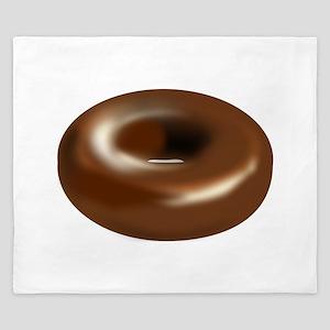 Chocolate Donut King Duvet