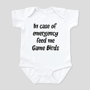 Feed me Game Birds Infant Bodysuit