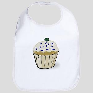 Blueberry Cupcake Bib