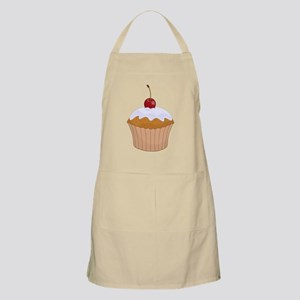 Cupcake With Cherry Apron