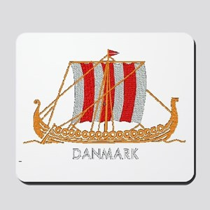 Danmark boat 2 Mousepad