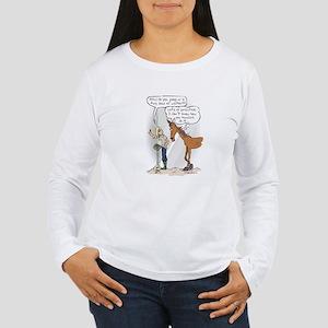 Ready, Aim....Poop Women's Long Sleeve T-Shirt